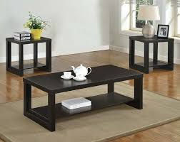 Coffee Table 3 Piece Sets Espresso Coffee Table Set Coffee Tables Thippo