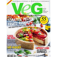 gourmand magazine cuisine veg magazine n 3 boutique cppresse