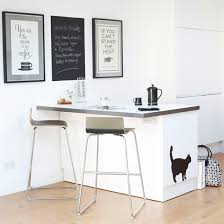 wall art design ideas simple small black and white kitchen wall