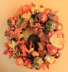 thanksgiving tree decorations thanksgiving ornament wreath from halloween u0027leftovers u0027 put a