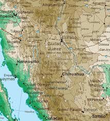 southern rocky mountain states topo map