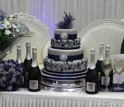wedding cakes dallas free cake info silver and blue wedding cake
