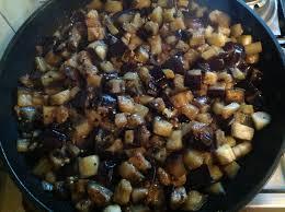 cuisiner aubergine a la poele poêlée d aubergines le chef jeffle chef jeff