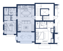 architectural blueprint floor plan studio apartment with one
