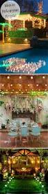 Patio Lights Ideas by Perk Up Your Party With Pergola Lighting Yard Envy