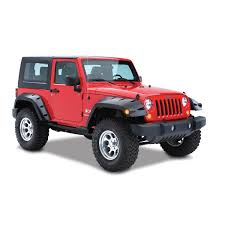 jeep fender flares jk 2007 2015 jeep wrangler jk bushwacker 10045 02 front pocket style