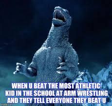 Godzilla Meme - laughing godzilla imgflip