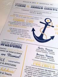 nautical wedding programs wedding fan template wedding stuff fan wedding