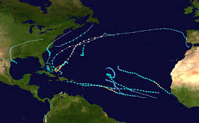 United States Storm Map by 2015 Atlantic Hurricane Season Wikipedia