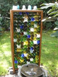 impressive wine bottle garden wall 17 best ideas about wine bottle
