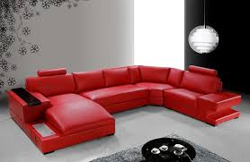 Contemporary White Leather Sectional Sofa by Great Red Leather Sofas Modern White Leather Sectional Sofa