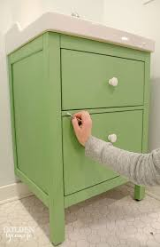 Ikea Bathroom Sink Cabinets by Bathroom Sink Vanity With Matching Mirror Green 34quot Green