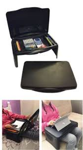 kids folding lap desk kids folding lap desk with storage 17 x 11 black durable