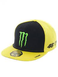 monster energy motocross gear valentino rossi yellow monster energy adj sponsor adjustable cap