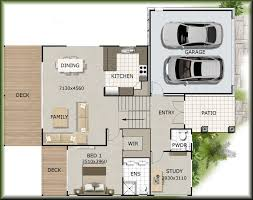 sloping house plans details builders sloping land hill house floor plans idea