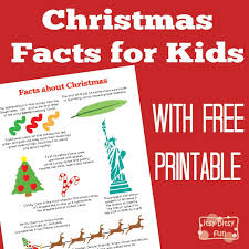 fun christmas facts for kids itsy bitsy fun