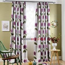 Purple Design Curtains Purple Floral Curtains Curtains Ideas