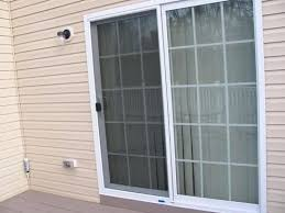 Sliding Screen Patio Doors Extraordinary Sliding Patio Doors With Screens Decoration In Patio