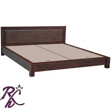 low height bed buy jiksa jaali low height bed online in india rajhandicraft furniture