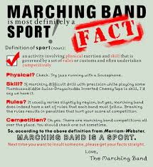 Marching Band Memes - marching band is a sport the most team based synchronization you