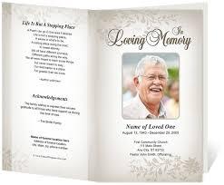 funeral program design funeral programs templates 214 best creative memorials with