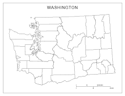 Usa Map Blank by Maps Of Washington