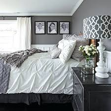 gray and white room black white and grey bedroom medium size of