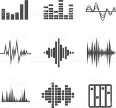 vector sound waves set stock vector art 481404926 istock
