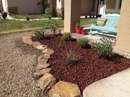rubber mulch landscaping ideas lava rock vs mulch landscaping