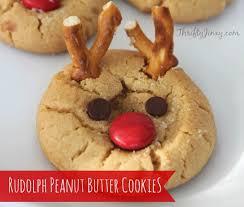 peanut butter pretzel reindeer cookies recipe fun and easy