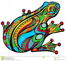 magic frog stock illustration image of arch curiosity 32126248