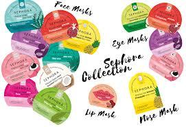 si e social sephora le nuove maschere made in sephora summer 2018 glamorous makeup