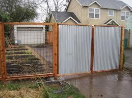 metal privacy fence designs home u0026 gardens geek