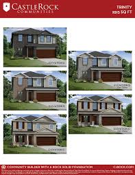 trinity cobalt home plan by castlerock communities in blackstone creek