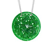dragon jade necklace pendant images Jade dragon necklace ktcollection jpg