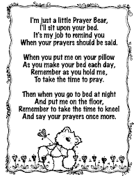 take me back to your bed for a little prayer bear perfect back to school item