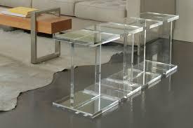enchanting clear acrylic table 97 clear acrylic table set modern