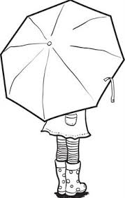 large umbrella coloring page large umbrella template umbrella outline black and white template