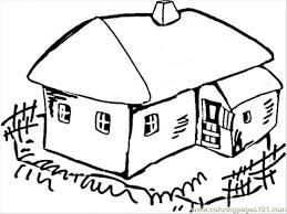 house village coloring free ukraine coloring pages