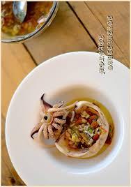 cuisiner seiche cuisiner la seiche morgate seiche sauce vierge cahier gourmand