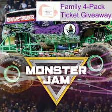 monster truck show nashville tn monster jam family 4 pack ticket giveaway unboxed mom
