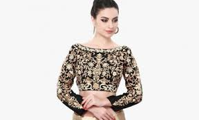 best blouse best top 20 designer boat neck blouse designs