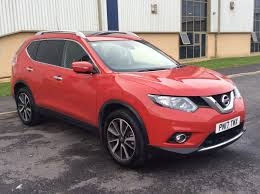 nissan red car used nissan x trail red for sale motors co uk