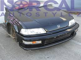 honda civic 91 hatchback parts 88 91 honda civic ef9 jdm sir front end conversion