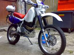 honda xr 600rt 96 and u201cmetal mule u201d panniers london england