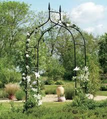 Metal Garden Arches And Trellises Amazon Com Extra Tall Gothic Arbor Garden Trellis Outdoor Metal