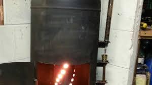 drip feed oil burner wood burner heat exchanger water heater