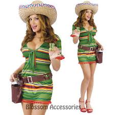 Mexican Woman Halloween Costume C925fw Shooter Tequila Sombrero Mexican Women Halloween