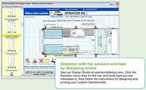 sportsmobile custom camper vans design your own sprinter