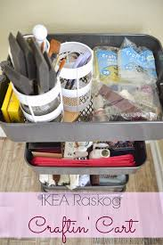 Ikea Craft Cart How To Use The Ikea Raskog As A Crafting Cart Table And Hearth